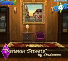 "Ladesire's creative corner): TS4 - ""Parisian Streets"" by Ladesire"