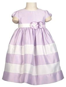 Pretty sateen lilac dress.  Great price outfit outfit for any special occasion.