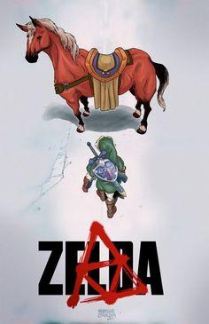 Akira/Zelda Mash up