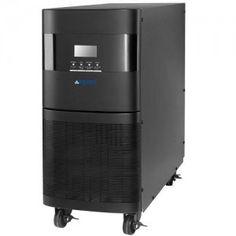 Sai trifásico 10000Va o 10Kvas / 8000W. Este sai ups dispone de entrada y salida trifasica. 3 Fases de onda senoidal pura, Doble conversión real, alto rendimiento gracias a la tecnología DSP y amplio rango de voltaje de entrada (110-300 VAC). LA-ON33-10K de Lapara