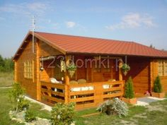 8x7_dom_letniskowy_01 Home Fashion, Cabin, House Styles, Home Decor, Decoration Home, Room Decor, Cabins, Cottage, Home Interior Design
