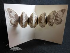 Creative Butterfly Fold Card_Linda Bauwin - video tutorial and more pictures in the post.