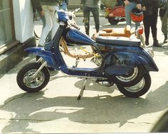 Vespa, Morecambe Scooter Rally 1987 | by Gidzy