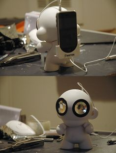munny iphone speakers 3 | by Phil Foss