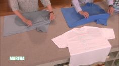 "Martha shows how to fold a basic T-shirt, one of the essential homekeeping how-tos in her More Things Everyone Should Know"" series."