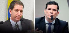 (Foto: Agência Senado) Glenn Greenwald, Sergio Moro, Crime, Lei, Liberty Print, Ministry Of Justice, Journaling, Brazil, World