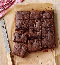 Whip Up a Batch of These Dark Chocolate Cherry Brownies