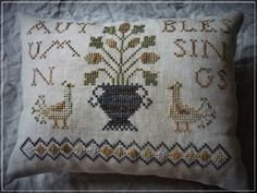 "sub rosa: "" Autumn Blessings..."" / Free pattern"