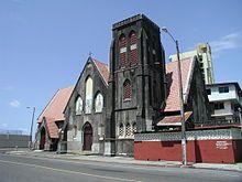 Panama - Colon's Christ church by the sea