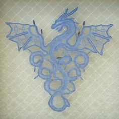 Dragon. Lace