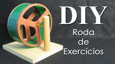 DIY Hamster Wheel, How to make Hamster Wheel Como fazer uma rodinha para hamster by AnimalPetFans  #hamster #DIY #animals