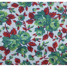 1930s - 1940s Tablecloth From Flour Sack / bag Fabric