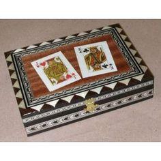Caja de Baraja doble Poker