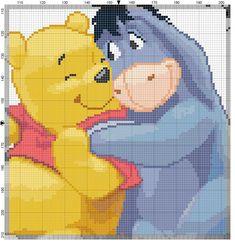 Pooh Cross Stitch *♥* Point de croix