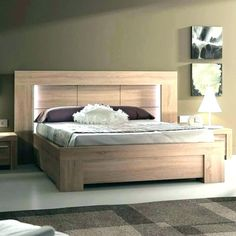 34 Gorgeous Rustic Bedroom Design And Decoration Ideas - Whether it's for your master bedroom at home or the bedrooms in your cabin out at the lake, rustic bedding makes a perfect addition to your humble abo. Wood Bed Design, Rustic Bedroom Design, Rustic Bedroom Furniture, Bedroom Bed Design, Bedroom Vintage, Bed Furniture, Black Furniture, Rustic Bedding, Furniture Ideas