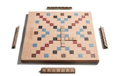 Coach leather Scrabble board.