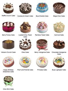 Wendys Birthday Cakes
