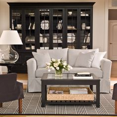 Villa 3-piece Library Bookcase - Ethan Allen US I'd love this for my books <3
