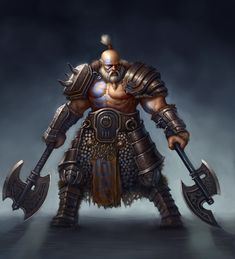 Barbarian guy by Sam-Peterson on DeviantArt