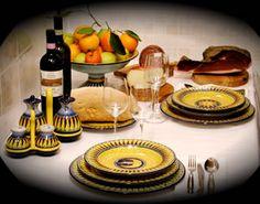 Ceramiche artistiche ceramiche da tavola LEONCINI orci brocche vasi fioriere piatti barattoli vassoi bicchieri boli tazze burriere decoro San Gimignano Italia