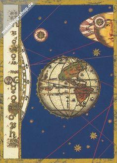 Weltkarte Nord- und Südamerika. Ausschnitt aus einer Weltkarte von Bartolomeo Velho, Portugal 1568. Die Anfänge der Kartographie reichen bis in die Vor- und Frühgeschichte zurück. Babylonier, Chinesen und Ägypter haben bereits Karten des Himmels und der Erde hergestellt. In Europa brachte erst die zunehmende Seefahrt ab dem 15. Jahrhundert entscheidende Fortschritte in der Kartographie. Die Karte des portugiesischen Kosmographen Velho zeigt Nord- und Südamerika mit differenzierten Umrissen.