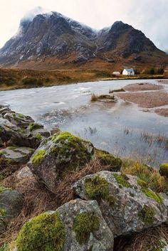 Solitude in Glencoe, Scotland