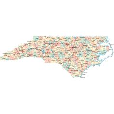 Scalable online North Carolina road map and regional printable road maps of North Carolina. Highway Map, Nc Map, North Carolina Map, Book Background, Beach Activities, State Map, Mac Book, Scouting, School Days