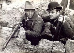 Spain - 1936. - GC - Madrid - milicianos. Ejército del Pueblo, #DefensadeMadrid. Noviembre de 1936. Foto: Albero&Segovia pic.twitter.com/OTWxEiXdsU