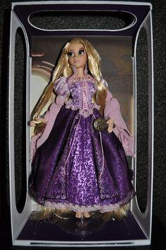Disney Collector Edition Dolls | ... Pixar Fanatics: Disney Store Exclusive Limited Edition Rapunzel Doll