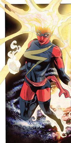 Captain Marvel - Ms. Marvel - Binary - Binaire - Warbird - Carol Danvers - Marvel Comics - Avengers - Vengeurs