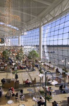 Seattle Airport with Kids: Play Areas, Rocking Chairs and More