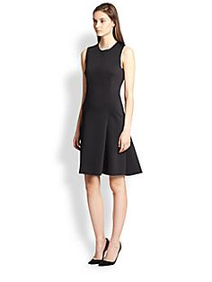 J Brand Ready-To-Wear - Alexa Scuba Fit-and-Flare Dress