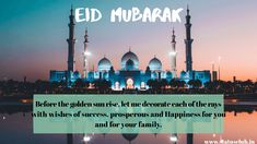 Happy Eid ul Fitr HD Images and Wishes for Ramadan - New Pictures Eid Ul Fitr Images, Eid Mubarak Hd Images, Happy Eid Ul Fitr, Happy Ramadan Mubarak, Eid Ul Fitr Messages, Greetings Images, Quotes For Whatsapp, Stay Happy, Girl Cakes
