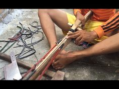How To Make recycling Gun For Fishing In Cambodia - Traditional Style - YouTube