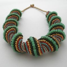 cellini spiral | Cellini Spiral Necklace - Folksy
