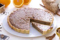 La torta di patate dolci è un classico della cucina americana, si gusta durante le  grandi feste tradizionali come il Giorno del Ringraziamento.