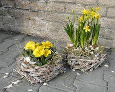 Jarní dekorace z živých květin | Dům a byt