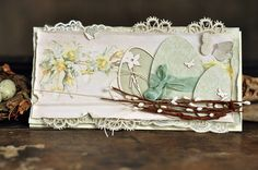 Happy Easter, by Ewa, the Easter Greetings and Pion Design Palette paper collections