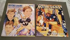 Notre Dame Pittsburgh Pitt Football Gameday Program lot of 2 programs 1989, 2001 #NotreDameFightingIrish