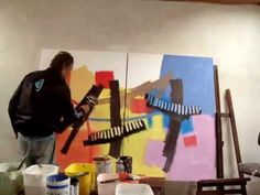 Abstract Paint COLORS by KRAMBECK - YouTube
