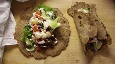 Rukiiset nyhtökaura tortillat