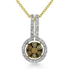 Shop online Arthurs Collection PDR-13418 Yellow Gold DIAMOND Necklaces  at Arthur's Jewelers. Free Shipping