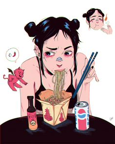 anime how to draw Art Anime Fille, Anime Art Girl, Manga Art, Anime Girls, Cute Art Styles, Cartoon Art Styles, Anime Shop, Bel Art, Art Du Croquis