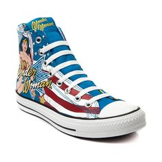eee54e7a4862 Converse All Star Hi Wonder Woman Sneaker