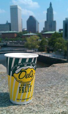 Rhode Island's best! Del's lemonade        #VisitRhodeIsland