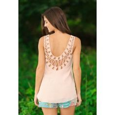 Sealed With A Kiss Tank-Blush - $42.00