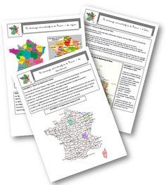 Découpage admnistratif de la France   (Mallory)
