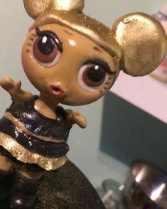 #lolsurprise #doll #lol #surprise #caketopper #handmade #queenbee #taartjestoko