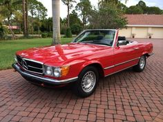 1985 Mercedes 280SL Roadster Convertible Euro Model R107