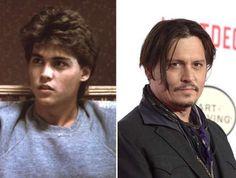 Διασημοι ηθοποιοι του '80 - Johnny Depp (1984, 2015) - Everett Collection/Rex Features; Jason Kempin/Getty Images
